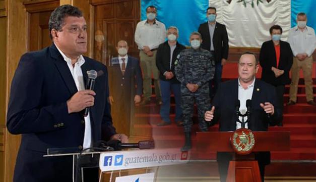 Crisis política en Guatemala: vicepresidente pide a Alejandro Giammattei que ambos renuncien