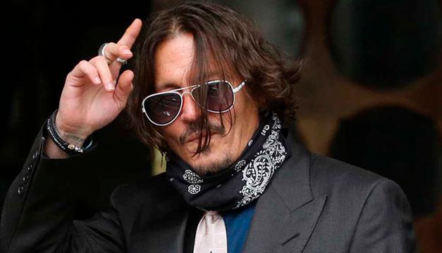 Johnyy Depp pierde apelación ante juez británico que rechazó su demanda contra diario Sun