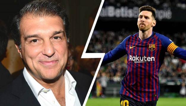 "Laporta no da por perdido a Messi: ""Se le puede convencer para quedarse"""
