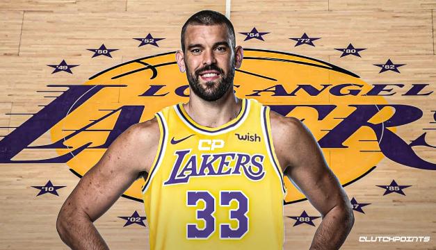 Marc Gasol peleará por otro anillo con Los Angeles Lakers
