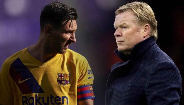 Koeman toma una sorpresiva decisión de última hora sobre Messi