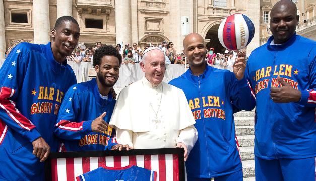 ¿De qué habló el papa Francisco con los jugadores de la NBA?