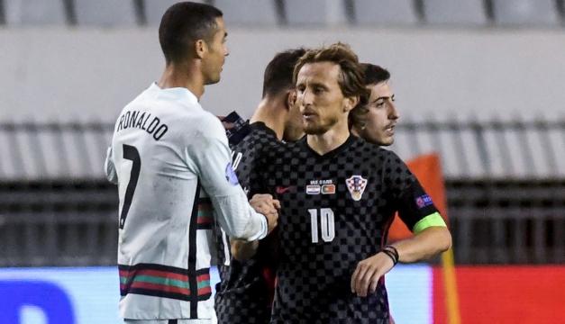 Croacia pierde 3-2 con Portugal pero evita el descenso en Liga de Naciones