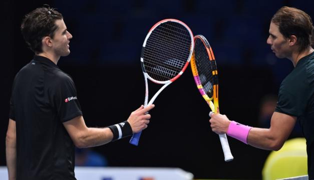Rafa Nadal pierde en dos sets ante Thiem en el Masters