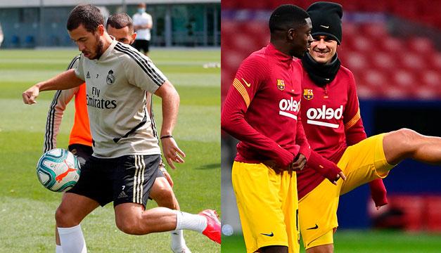 Madrid y Barça a exámen