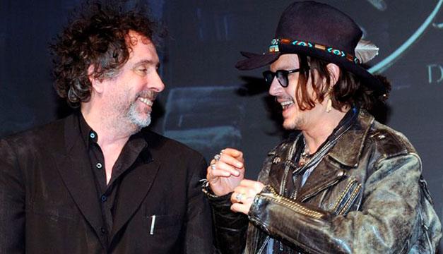Johnny Depp, posible candidato para la serie de la familia Addams