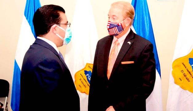 Cuerpo diplomático respalda labor de la Fiscalía de El Salvador contra la corrupción