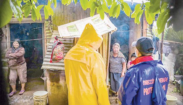 Dos viviendas y 40 emergencias menores en San Salvador