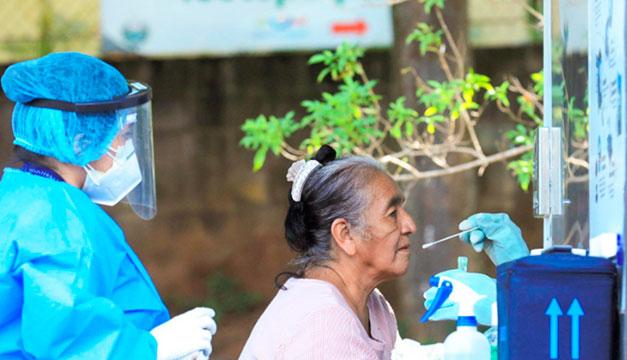 La Libertad: Recolectan 300 pruebas de covid-19 en Teotepeque