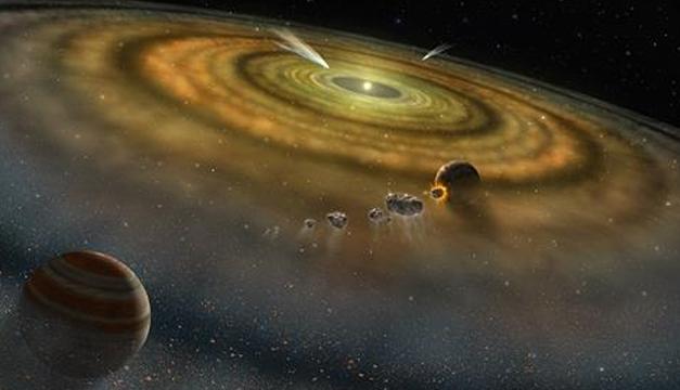 El Sistema Solar se formó en menos de 200.000 años, según estudio