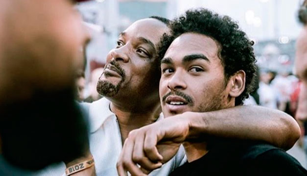 Will Smith recrea antigua foto junto a su hijo y lo cuestionan por qué sigue luciendo igual