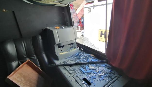Autobús de Alianza es atacado al llegar al estadio Quiteño