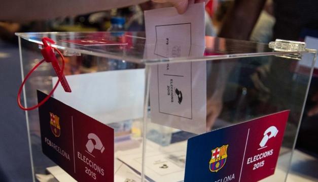 Elecciones presidenciales del Barcelona aplazado por covid-19