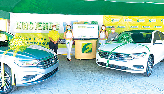 SISTEMA FEDECRÉDITO realizó el sorteo de los Volkswagen Jetta Highline