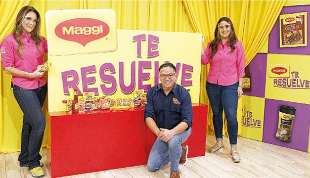 Maggi regala cinco salarios de $300 por todo un año