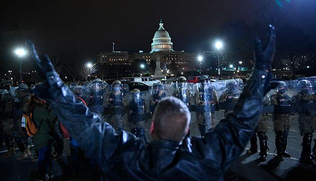 Nueve de cada diez estadounidenses rechazan el asalto al Capitolio