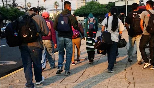 Capturan a supuestos organizadores de caravanas de migrantes en El Salvador