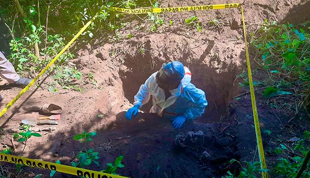 FGR reporta captura por crimen donde se encontró osamentas en fosa clandestina en Colón