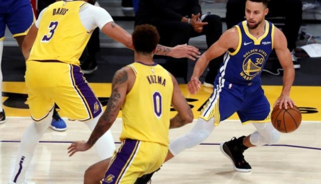 Golden State acaba con Los Ángeles Lakers tras exhibición de Stephen Curry