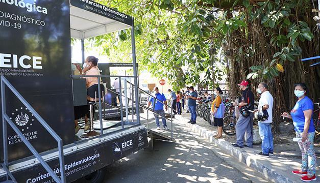 Ministerio de Salud realizó mil pruebas para detectar covid-19 en Tonacatepeque