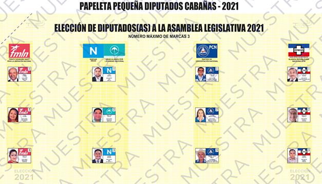 NI pierde un diputado en Cabañas y por ahora se queda con 55