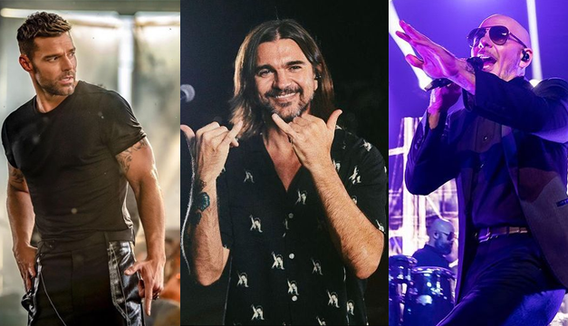 "Ricky Martin, Juanes and Pitbull will present a show at the ""Latin AMAs"" awards 2021"