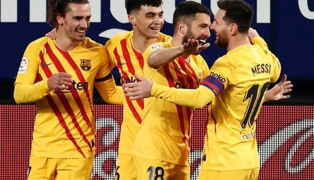 El Barcelona se acerca al liderato tras vencer de visita al Osasuna