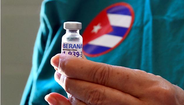 Vacuna anticovid de Cuba alcanza 62% de eficacia