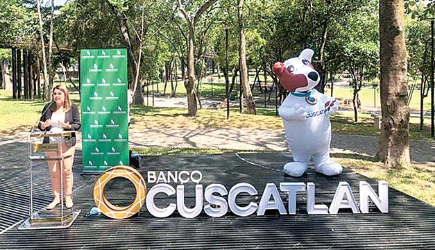 Banco Cuscatlán impulsa el uso de bicicletas en áreas recreativas