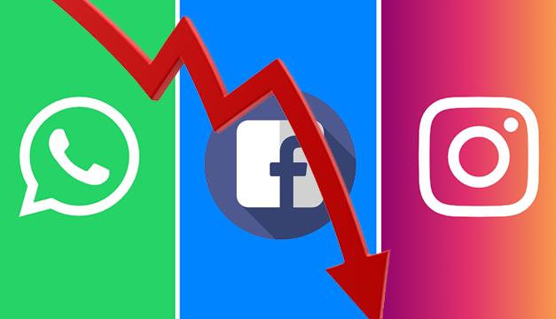 Reportan fallas y caídas prolongadas de Facebook, Instagram y WhatsApp