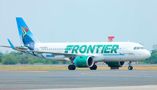 Frontier conectará a El Salvador con 100 ciudades en EE.UU.