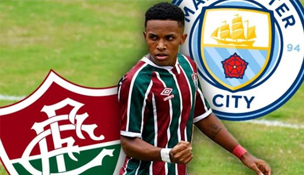 """¡Viaje urgente! El Manchester City ya está en Brasil para fichar al """"nuevo Neymar"""""""