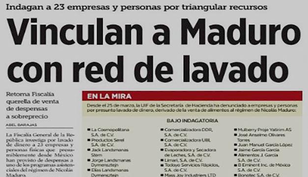 Empresa indagada por lavado en México reclama a El Salvador