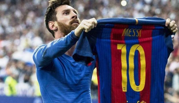 """""""Manita"""", camiseta al viento: los mejores clásicos de Messi"""