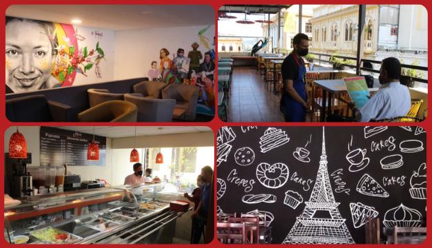 FOTOGALERÍA: Cuatro conceptos gastronómicos del Centro Histórico de San Salvador