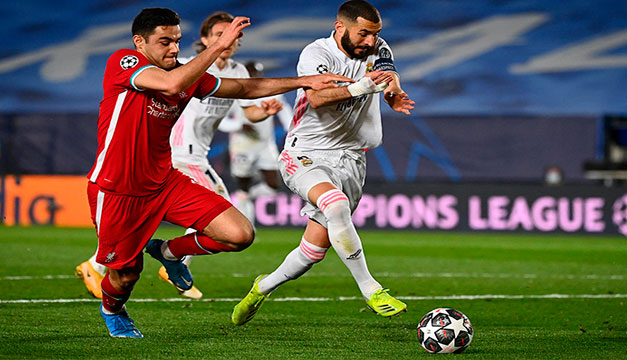 El Real Madrid no quiere bailar el 'Rock and Roll' del Liverpool en la vuelta de cuartos