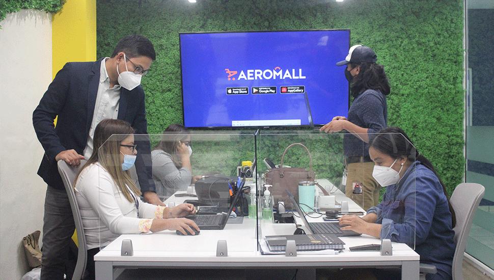 Aeromall el centro comercial virtual de El Salvador
