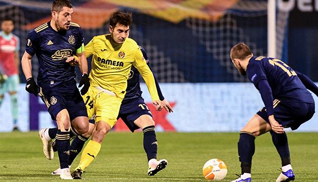 Villarreal gana 1-0 en Zagreb con nuevo gol de Gerard Moreno