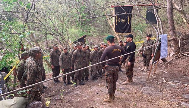 Un alumno de la Fuerza Armada desaparecido tras ahogarse durante una prueba en Morazán, según FAES
