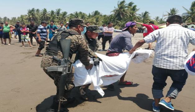 Recuperan cuerpo de joven de 13 años desaparecida en playa Barra de Santiago