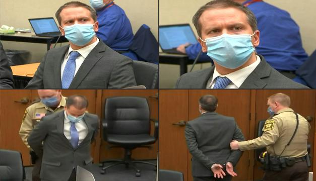 Expolicía Derek Chauvin culpable de todos los cargos por la muerte de George Floyd