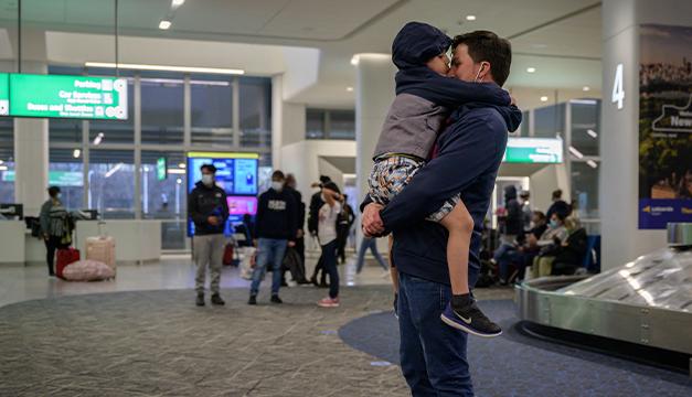 El viaje que reencontró a seis familias migrantes en Estados Unidos