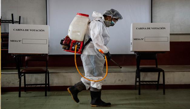 Perú elige presidente en la semana más mortal de la pandemia
