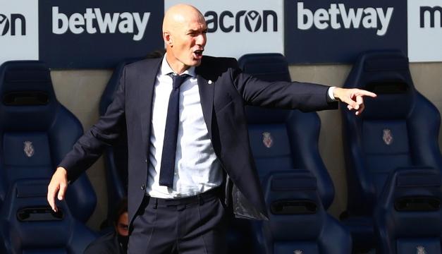 """Zinedine Zidane: """"¿Arbitrajes? No digo nada porque se monta un lío"""""""
