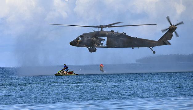 Equipo estadounidense capacitará a militares salvadoreños sobre respuesta ante desastres naturales
