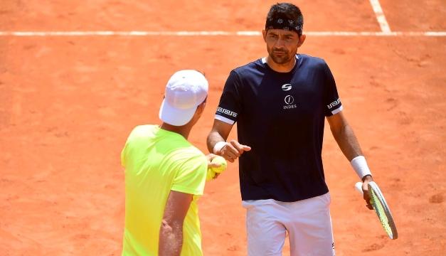 Marcelo Arévalo derrotó a una pareja local en el Masters 1000 de Roma