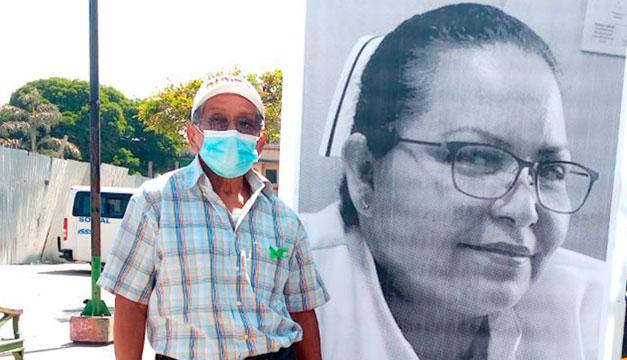 """""""Marinita"""", la enfermera que amaba bordar y cuidar niños"""