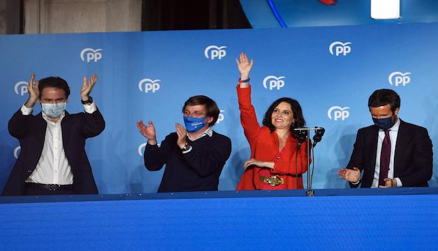 La derecha triunfa en elecciones de Madrid y obliga al retiro a Pablo Iglesias