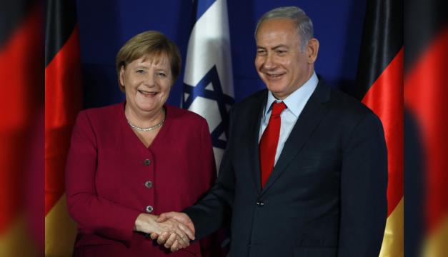 """Canciller alemana expresa su """"solidaridad"""" con Israel tras escalada de violencia en Gaza"""