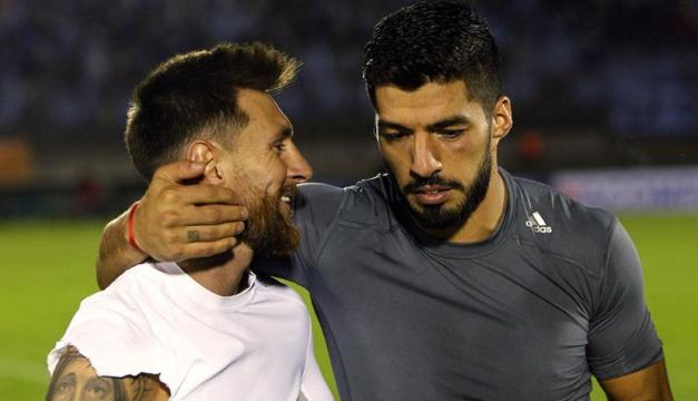 Barcelona-Atlético, choque por la Liga y duelo fratricida Messi-Suárez